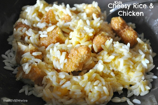 Kids Cheesy Rice & Chicken