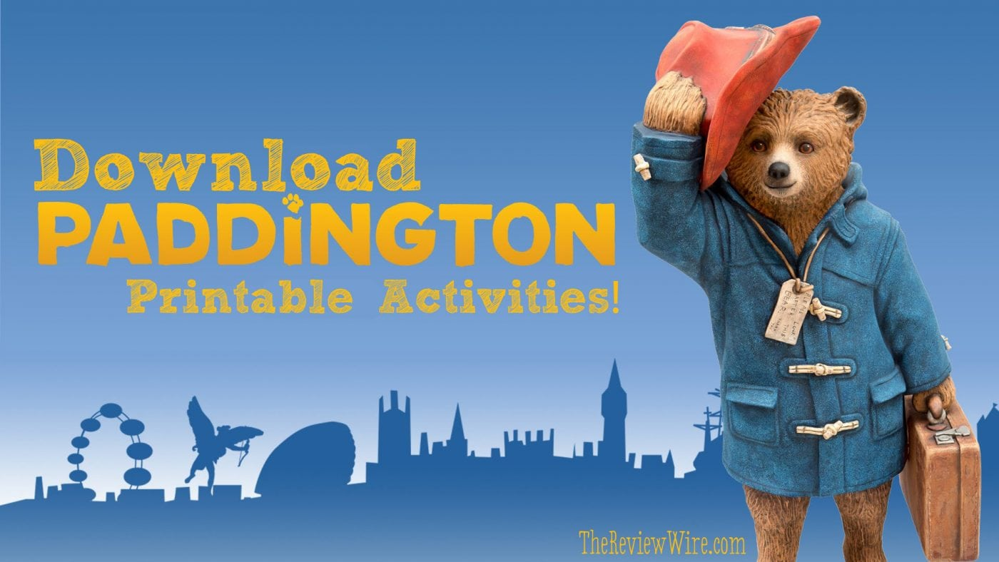 Paddington-Printable-Activities