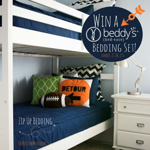 Beddy's Giveaway- The Review Wire
