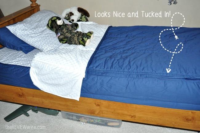 Beddy's Zip Up Bedding Nice & Tucked