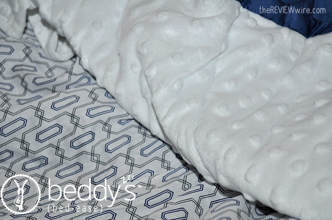 Beddy's Zip Up Bedding Minky Blanket