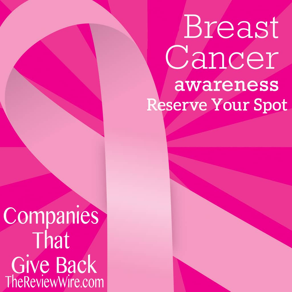 Breast Cancer Awareness Guide Reserve Your Spot