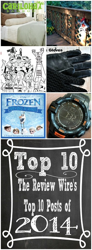 Top 10 Review Wire Posts 2014