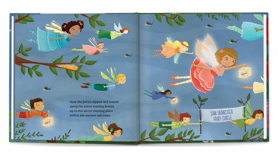 Sweet Dreams Fairy Personalized Book