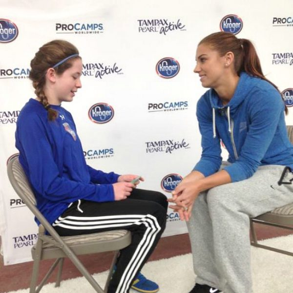 Interview With Alex Morgan