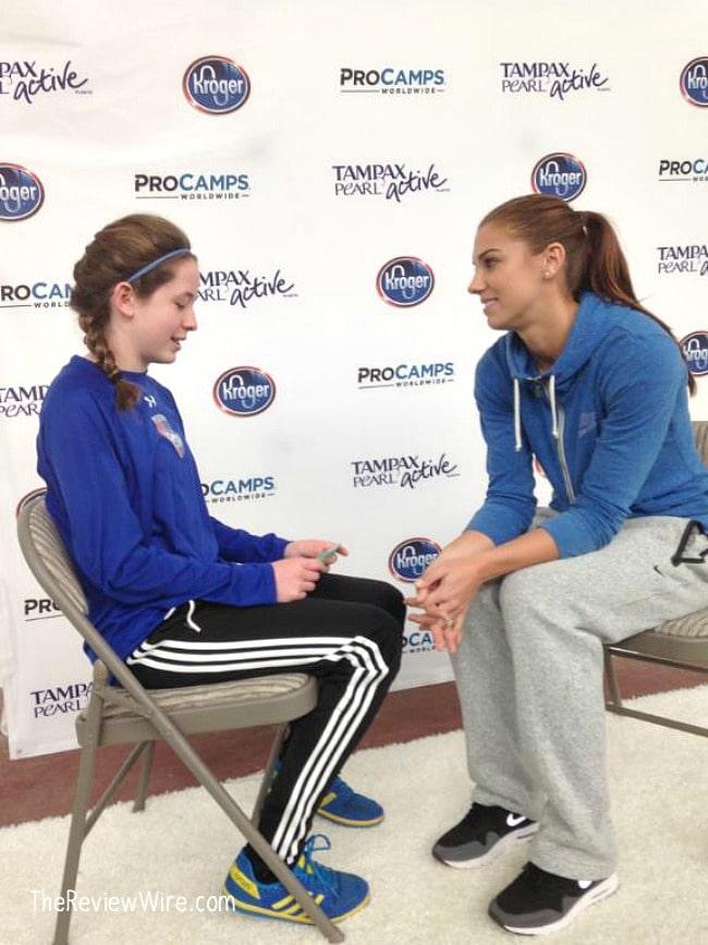 Interview With Alex Morgan