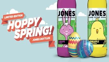 Jones Soda Limited Edition Spring Flavors
