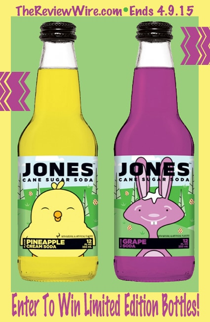 Jones Soda Giveaway