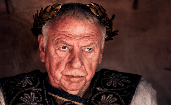 Kenneth Cranham Is Tiberius