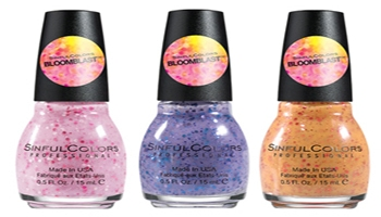 Capture The Trends of the Season With SinfulColors Spring 2015 Nail Polish Colors