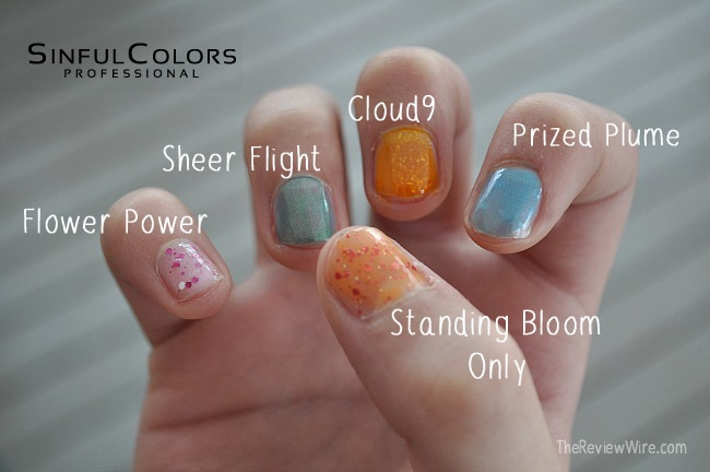 Spring 2015 SinfulColors