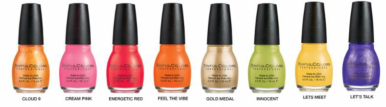 Spring 2015 from SinfulColors 1