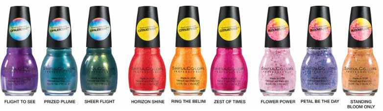 Spring 2015 from SinfulColors 2