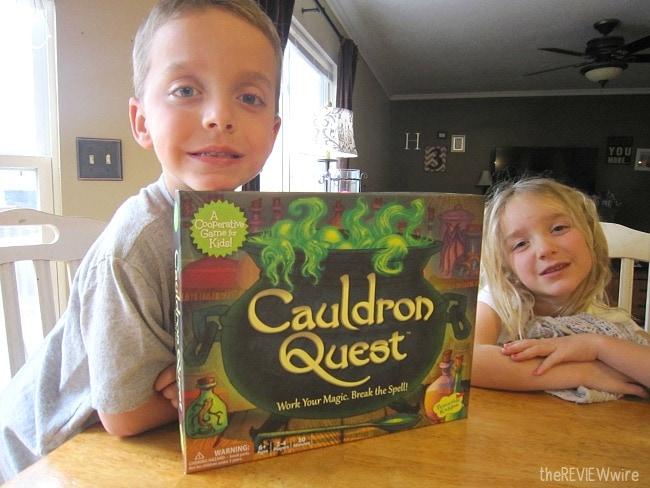 Cauldron Quest Game