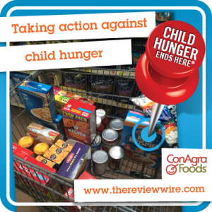 Child Hunger Conagra Foods