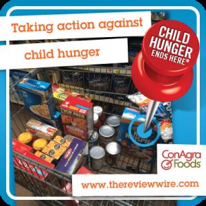 Child Hunger Conagra Foods
