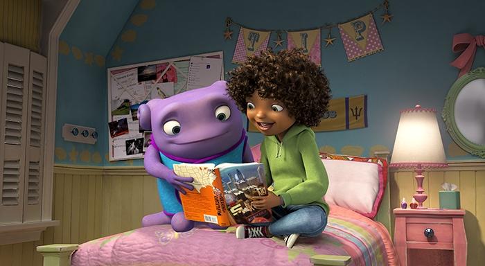 HOME Movie_Smekday_Reading