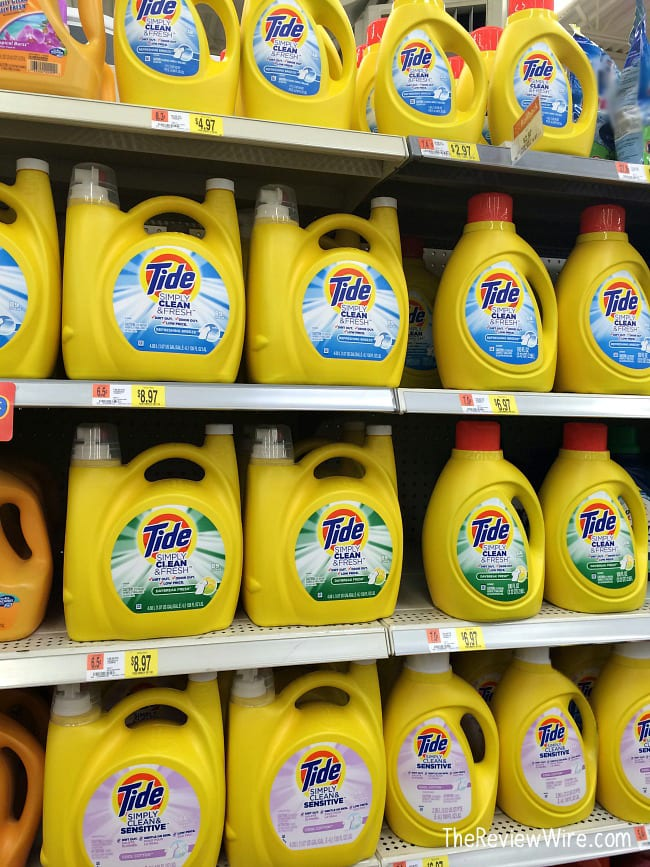 Tide at Walmart Stock Up and Save