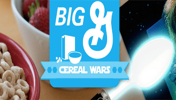 Big G General Mills Cereal Wars