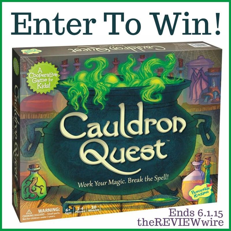Cauldron Quest Giveaway