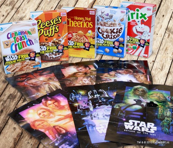 General Mills Star Wars Posters