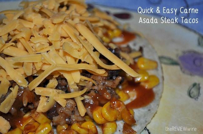 Quick & Easy Carne Asada Steak Tacos