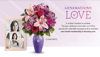 Teleflora Celebrates Generations of Love
