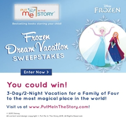 Frozen Sweepstakes Ends 7/18/15