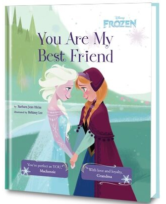 Frozen- You Are My Best Friend book