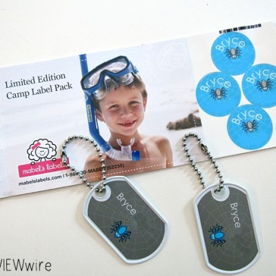 Mabel's Labels Limited Edition Camp Label Pack Review