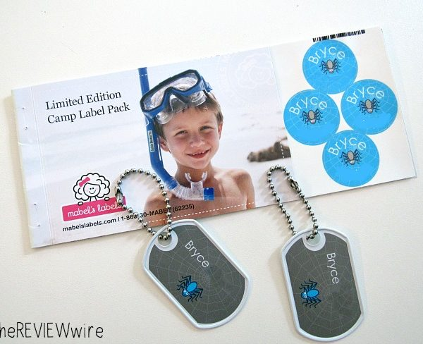 Limited Edition Camp Label Pack