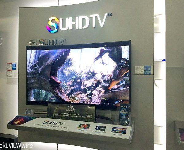 Samsung SUHD TV Jurassic Park