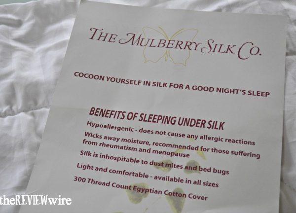 Mulberry Silk Co Silk Benefits