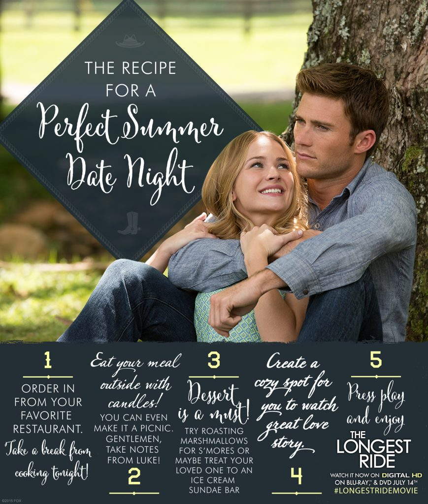 TheLongestRide_Perfect Summer Date Night