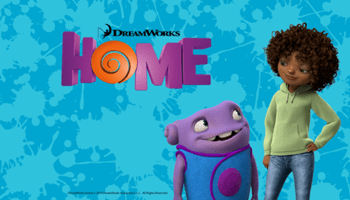 dreamworks HOME DVD