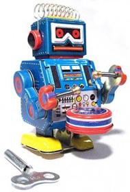 robot-band-blue