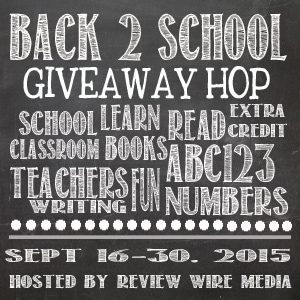 Back To School Giveaway Hop 2015