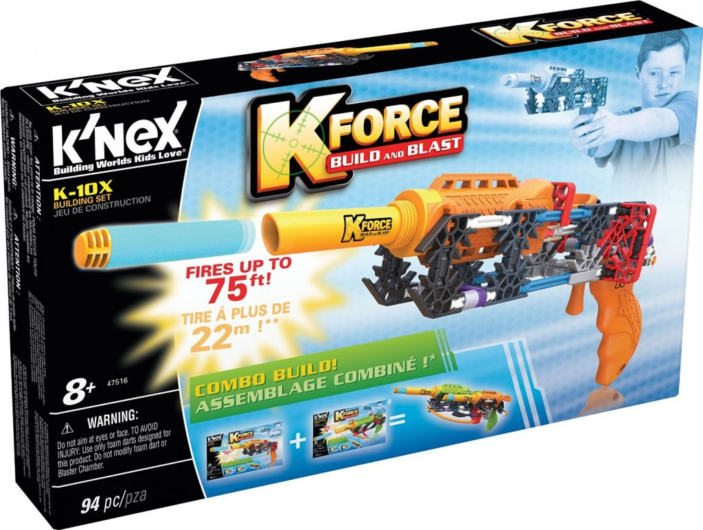K-Force Build and Blast K-10x Building Set