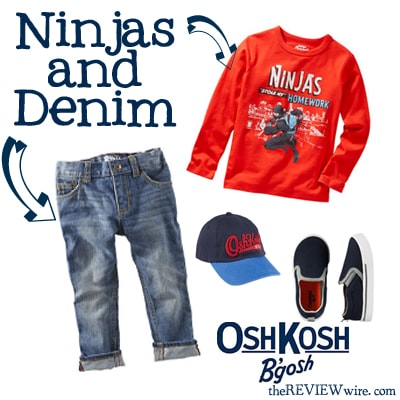Ninjas and denim
