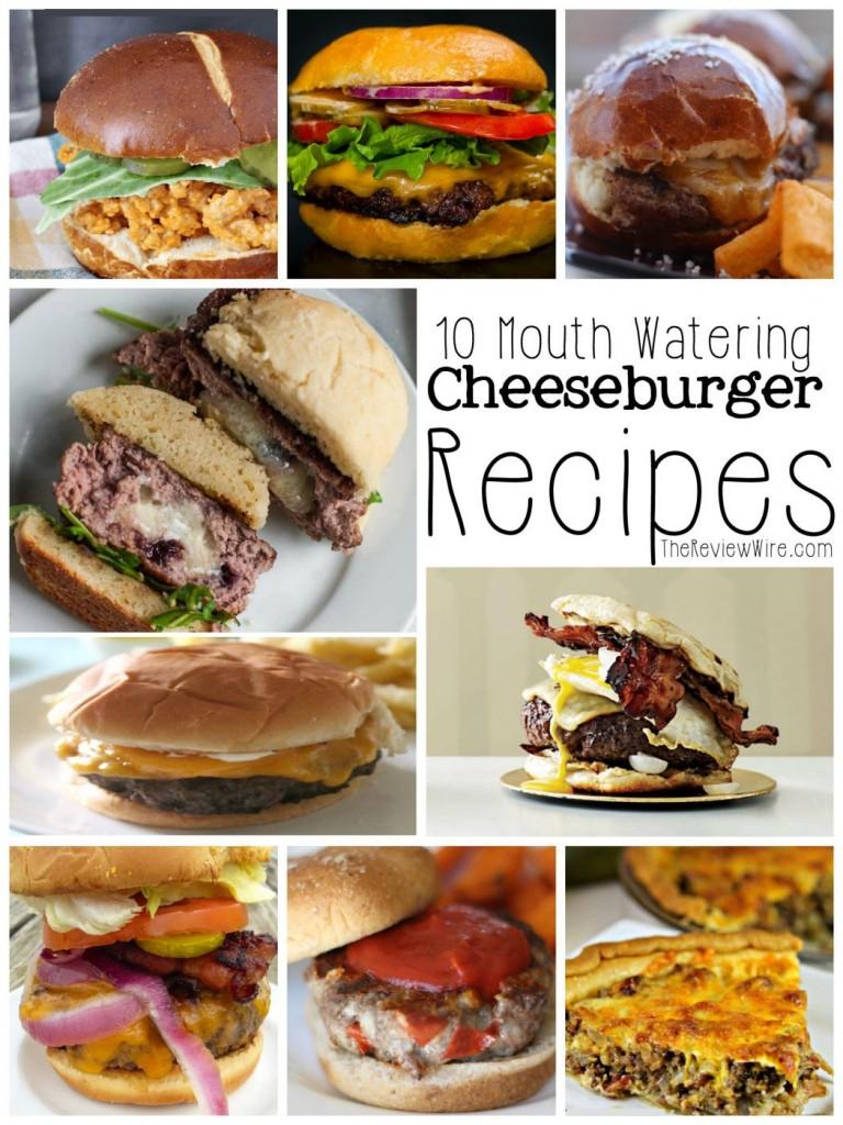 10 Cheeseburger Recipes