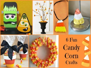6 Easy Candy Corn Crafts for Kids
