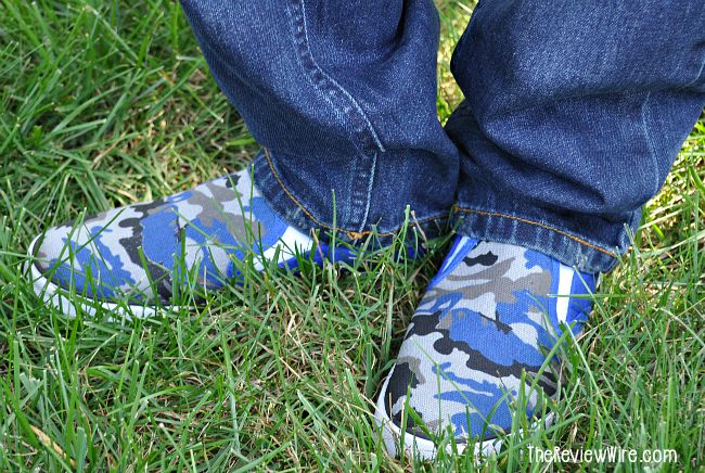 FabKids Camo Shoes