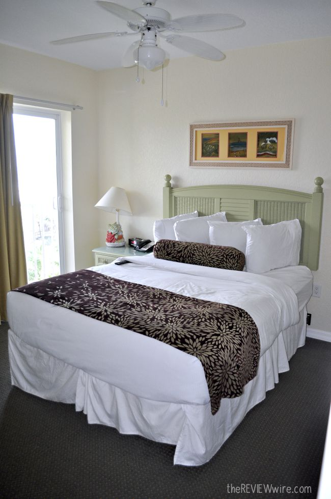 Sunset Vistas Master Bedroom with Double Bed