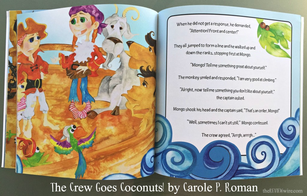 The Crew Goes Coconuts! Carole P Roman