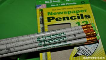 Treesmart-Newpaper-Pencils