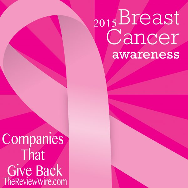 Breast Cancer Companies That Give Back