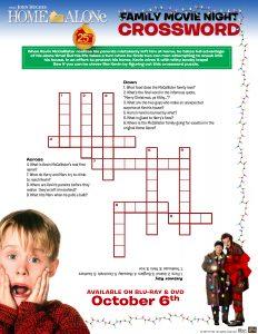 HomeAlone_worksheet_Crossword
