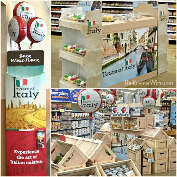 Taste of Italy at Kroger