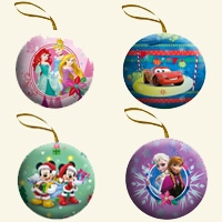 Disney Ornament Tin Gift Pack with Candy