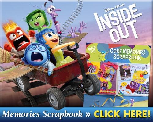 Inside Out Memories Scrapbook